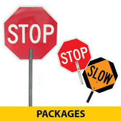 STOP/SLOW Hand Paddle Packages