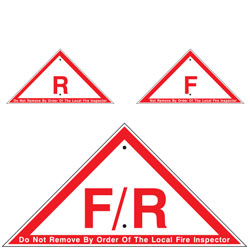 Floor/Roof Truss Signs