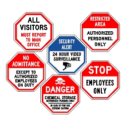 Octagon Safety Signs