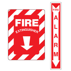 Fire Facility Signs