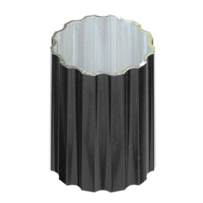 Fluted Finish Steel Post