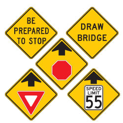 <strong>W3 Series</strong> Advance Traffic Control Warning Signs