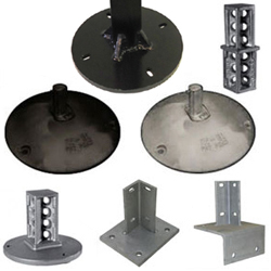 Break-A-Way Systems for Square Posts