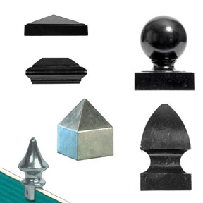 Caps and Finials for Square Posts