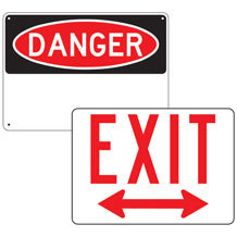 Safety Products/Jobsite, Building & Facility Signs