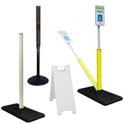 Portable Sign Mounting Options