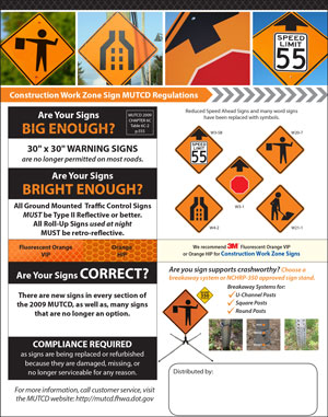 Construction Work Zone MUTCD Regulations