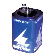 6 Volt Battery for Warning Lights