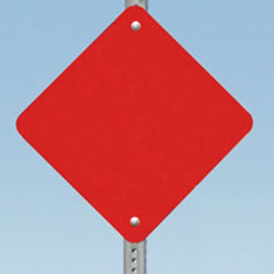 Type 4 (End of Roadway) Object Markers: Red Reflective