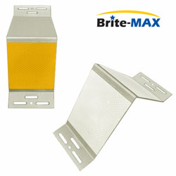 Brite Max A Style BMGA04 (Aluminum) Barrier Mount Delineator