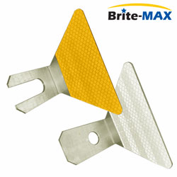 Brite Max Butterfly (Aluminum) Guardrail Delineators