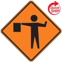 Flagger Symbol | Work Zone Signs