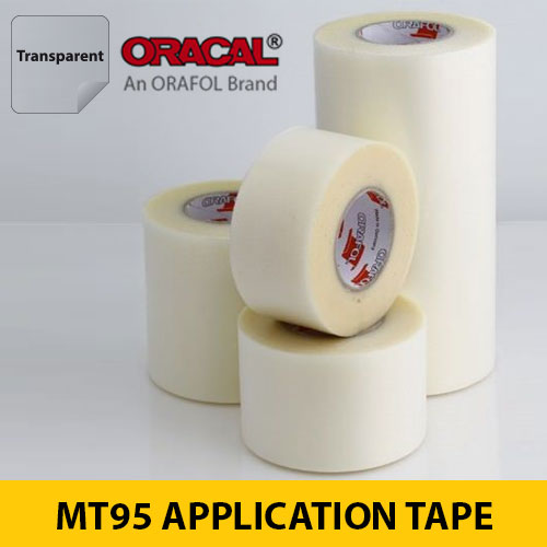 ORACAL MT95 Clear Transfer Application Tape