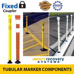 Premium Tubular Markers with Coupler for Fixed Base