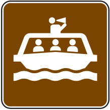 Tour Boat Sign