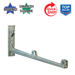 Silver 24 Cantilever Wing Bracket