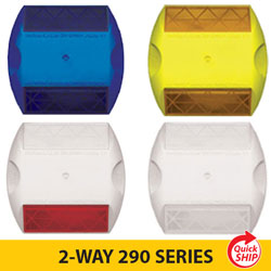 2 WAY 290 SERIES 3M Raised Pavement Markers (INDIVIDUAL)