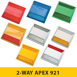2 WAY 921 Series APEX Raised Pavement Markers [50/BOX]