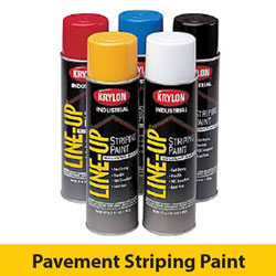 Krylon Line Up Inverted Tip Pavement Striping Paint {12/BOX}