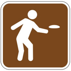 Frisbee Sign