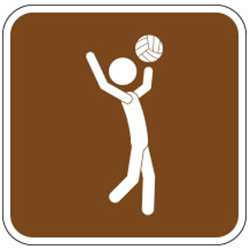 Volleyball Sign