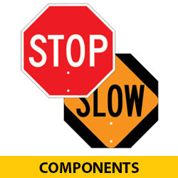 STOP/SLOW Paddle Heads