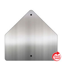 Pentagon .080 Aluminum Sign Blanks