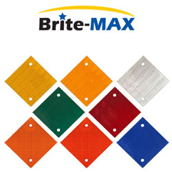 "5"" x 5"" Diamond Brite Max Delineators"