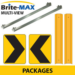 Chevron Adjustable Bracket System with Multi View Brite Max Packages