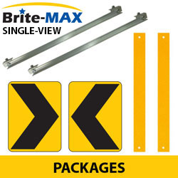 Chevron Adjustable Bracket System with Single View Brite Max Packages