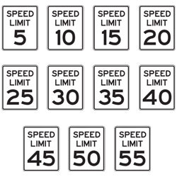Speed Limit Signs for School Areas