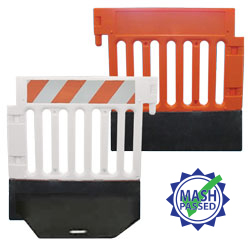 Strongwall Barricade and Channelizer ADA compliant